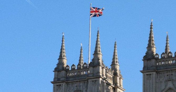 3206893|英国大不列颠的国旗4K免费素材视频