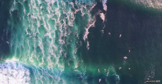 3191709|波浪海浪冲浪者大疆DJI拍摄的4KCC0视频素材
