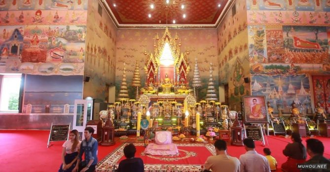 1230932|佛教, 宗教朝拜印度免费素材视频