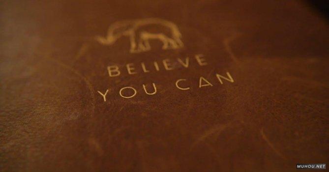 3371461 大象牌皮革封面书皮特写免费素材视频