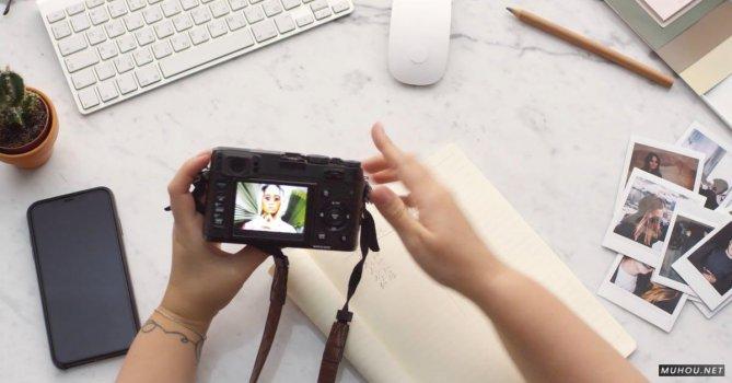 3251935 数码相机选照片4K免费素材视频