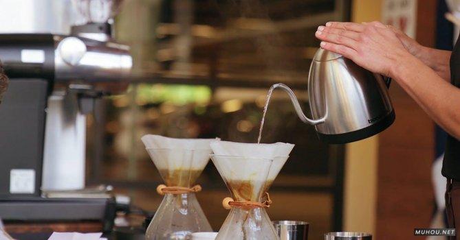 2853789|有关倾注, 咖啡, 咖啡制作的免费素材视频