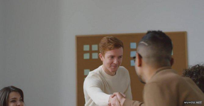 3246278|商务会议商人握手4K免费素材视频