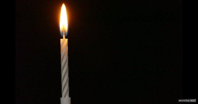 2430478 延时拍摄火焰, 燃烧蜡烛4K免费素材视频