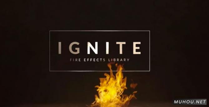 视频素材:554组地面水面火焰燃烧喷发4K特效合成视频素材