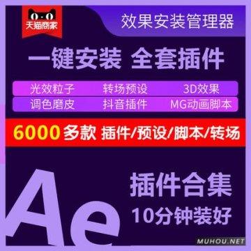 【自动发货】Ae插件合集一键安装包|调色/粒子/特效/转场/中文汉化 支持CC2014-2020