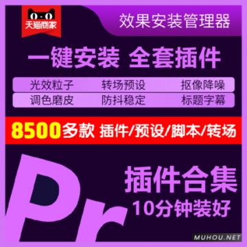【自动发货】Pr插件合集一键安装包/调色/转场/字幕/磨皮/剪辑预设/中文汉化 支持CC2014-2020