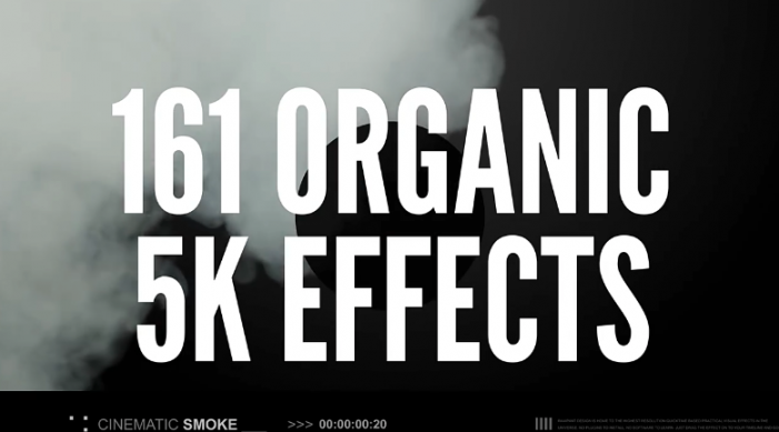 161个4K真实的烟雾效果视频素材包 Studio Smoke 4K特效合集素材下载【20GB】